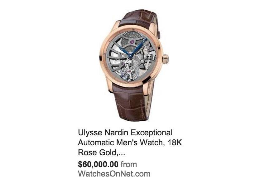 调查:那只38万元的表,在美国谁会戴?