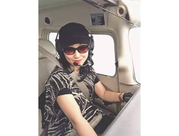 川妹子计划两个月完成环球飞行 将成为中国女性第一人