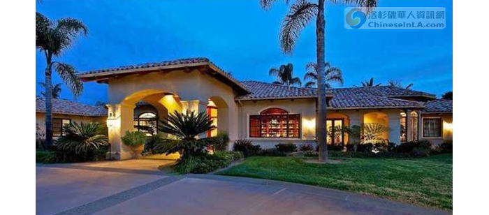 张纪中南加州四百万豪宅曝光 比邻比尔 盖茨