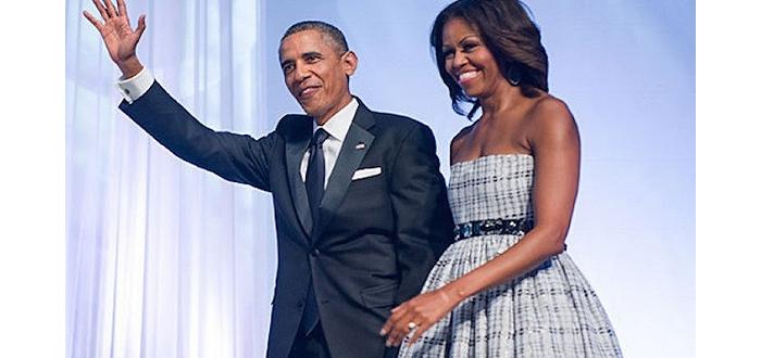 奥巴马夫妇的爱情生活~~~ 岁月静好,温馨浪漫