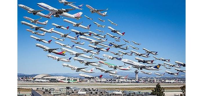 快抬头,你一定没见过这样的飞机!