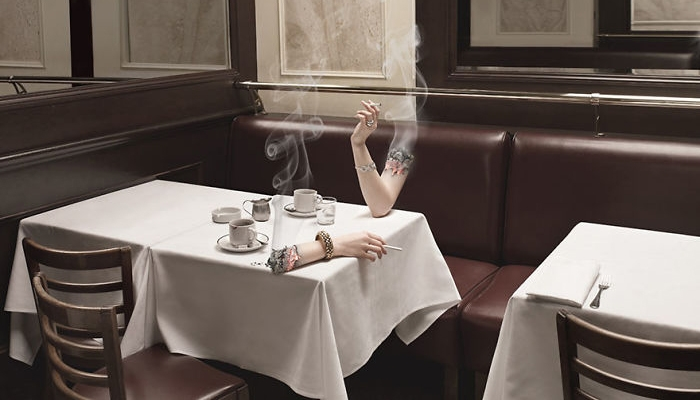 这些戒烟广告太有创意了