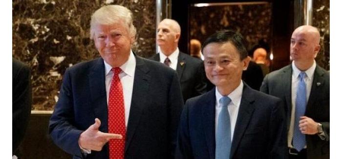 马云和特朗普,两个生意人刚刚在纽约做了一场交易