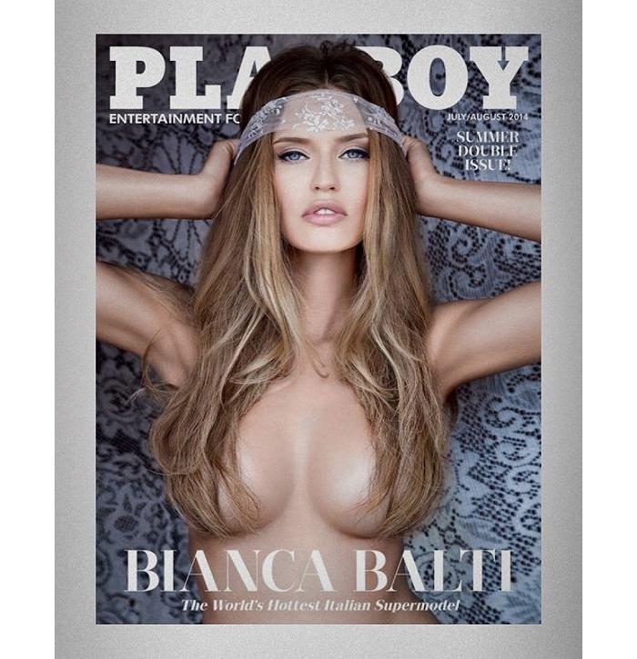 在取消裸露模特照一年后 《花花公子》又回归了大胆情色风