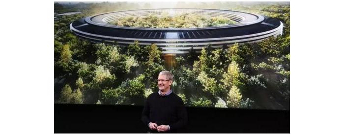 苹果新总部终于要出山了,建筑师却气哭了...