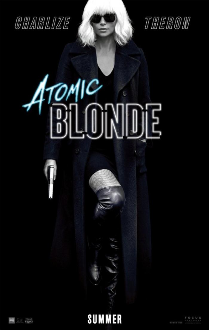 一双又美又能打红色高跟鞋!莎莉赛隆全新电影《Atomic Blonde》化身致命女杀手 ... .. ...